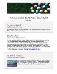 EL E-letter 2014 April