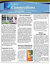 Fam Connections June 2014