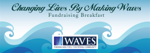 Waves Breakfast Fundraiser banner